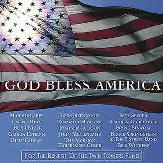 God Bless America (charity album) - Image: God Bless America charity album cover