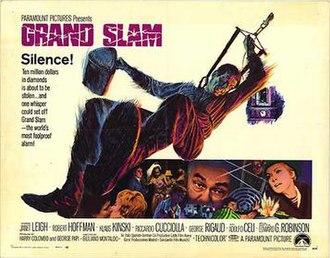 Grand Slam (1967 film) - Grand Slam film poster