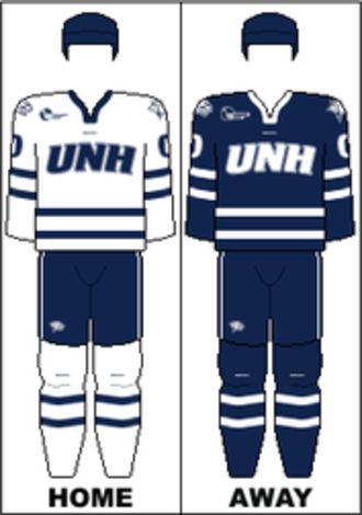 New Hampshire Wildcats men's ice hockey - Image: HE Uniform UNH