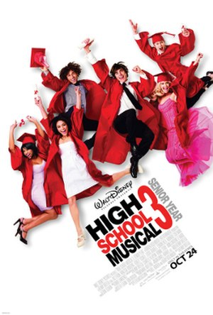 High School Musical 3: Senior Year - Theatrical release poster