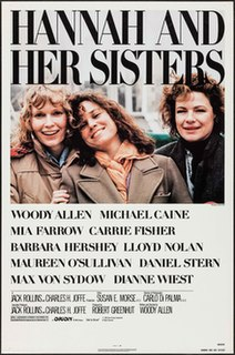 <i>Hannah and Her Sisters</i> 1986 film by Woody Allen