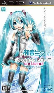 <i>Hatsune Miku: Project DIVA Extend</i> video game