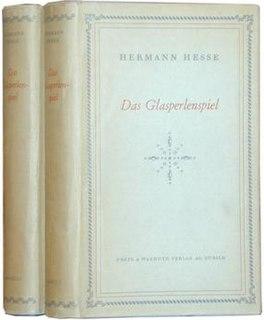 <i>The Glass Bead Game</i> novel by Hermann Hesse