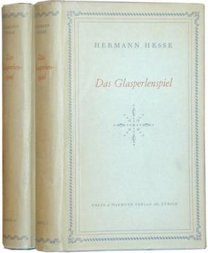 The Glass Bead Game - First German edition