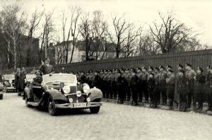 Hitler in Klaipeda