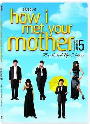How I Met Your Mother (season 5) - Image: How I Met Your Mother Season 5 DVD Cover