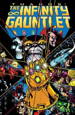 Image result for infinity gauntlet series