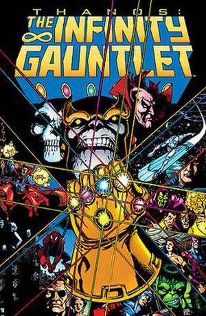 The Infinity Gauntlet - Image: Infinity Gauntlet 1