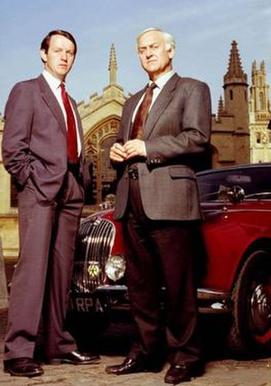 Inspector Morse (TV series) - Sergeant Lewis (left) and Inspector Morse