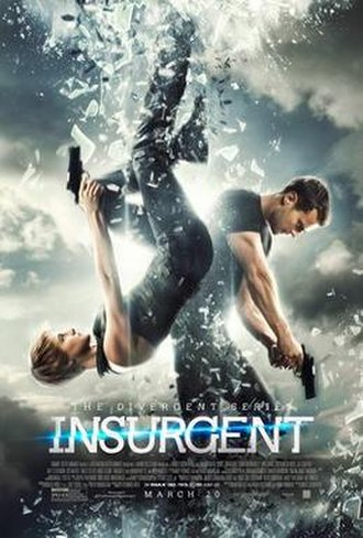 The Divergent Series: Insurgent - Theatrical release poster