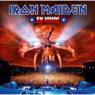 En Vivo! (Iron Maiden album) - Image: Iron Maiden en Vivo CD