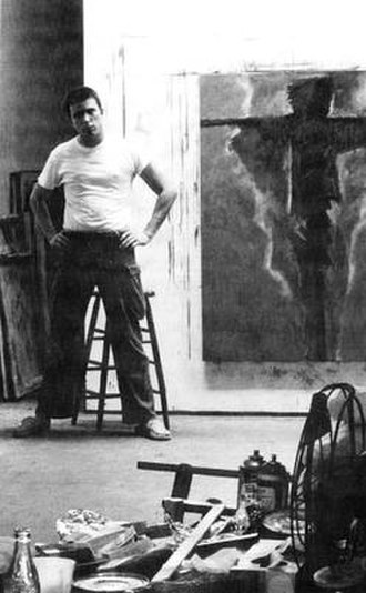 Jack Boynton - Jack Boynton in his Studio 1950s or 60s