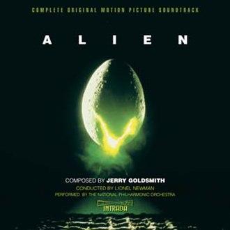 Alien (soundtrack) - Image: Jerry goldsmith alien score complete intrada edition