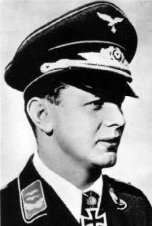 Josef Priller - Josef Priller in World War II
