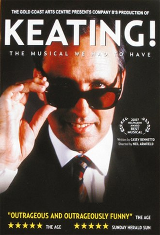 Keating! - Poster for the Company B production