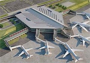 New Ulaanbaatar International Airport - Rendering of the proposed look