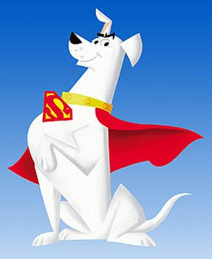 Krypto - Krypto as he appeared in Cartoon Network's 2005 series Krypto the Superdog.