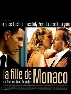The Girl from Monaco - Film poster