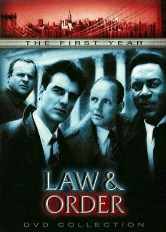 Law & Order (season 1) - Season 1 U.S. DVD cover