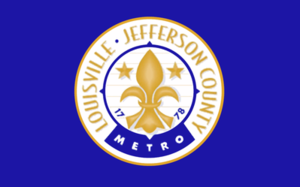 Flag of Louisville, Kentucky - Flag of Louisville-Jefferson County Metro, Kentucky