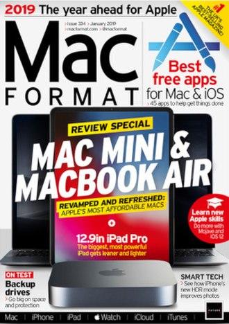 MacFormat - Image: Mac Format January 2019 cover