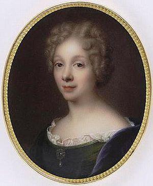 Anne Dacier - Miniature of Madame Dacier by Marie Victoire Jaquotot