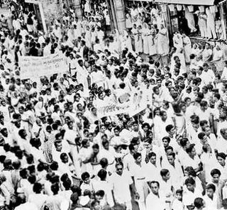 Mahagujarat movement 1956 political movement demanding the creation of Gujarat state from Bombay state