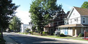 Chalfont Historic District - Main Street in Chalfont