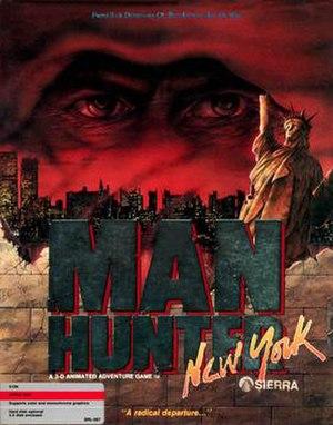 Manhunter: New York - Image: Manhunter New York Cover