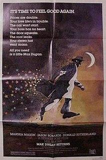 <i>Max Dugan Returns</i> 1983 film by Herbert Ross