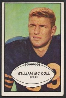Bill McColl American football end, surgeon, and politician
