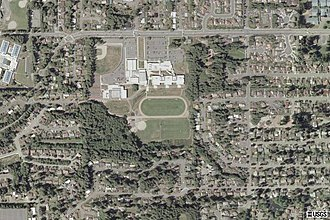 Meadowdale High School (Washington) - Image: Meadowdale High School Aerial
