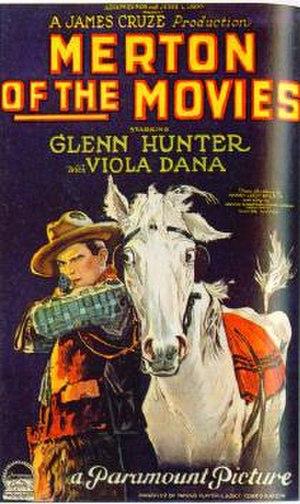 Merton of the Movies (1924 film) - 1924 movie poster