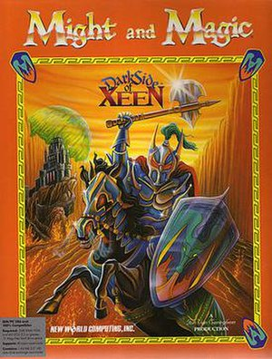 Might and Magic V: Darkside of Xeen - Image: Might and Magic V cover