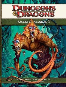 monster manual 2 wikipedia rh en wikipedia org Dungeons and Dragons Monster Manual 2E DD Monster Manual