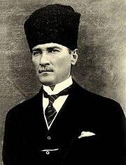 Kemal Atatürk, founder of the modern Turkish Republic