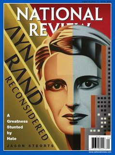 <i>National Review</i> American conservative editorial magazine