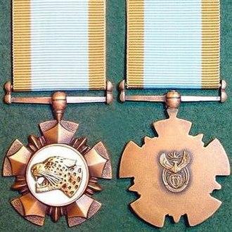 Nkwe ya Boronse - Image: Nkwe ya Boronse medal