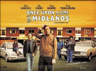 Once Upon a Time in the Midlands - UK Theatrical release poster