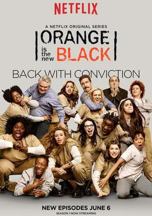 Orange Is the New Black (season 2) - Promotional poster