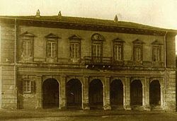 The town hall in 1930