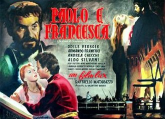 Legend of Love - Image: Paolo e francesca poster