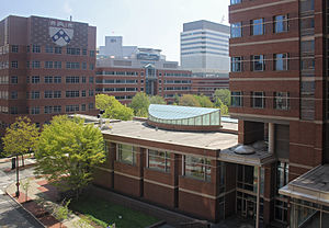 Perelman School of Medicine at the University of Pennsylvania - Medical and research facilities of the Perelman School of Medicine and the Children's Hospital of Philadelphia