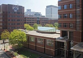 Perelman School of Medicine at the University of Pennsylvania - Medical and research facilities of the Perelman School of Medicine and the Children's Hospital of Philadelphia