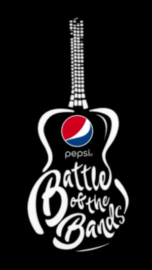 Pepsi Battle of the Bands - Show logo