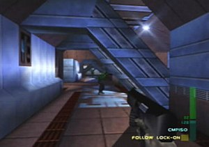 Perfect Dark - Image: Perfect Dark Gameplay
