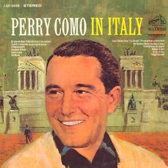 Perry Como in Italy - Image: Perry Como Italy