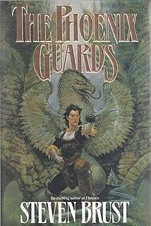 <i>The Phoenix Guards</i> 1991 novel in the Khaavren Romances series by Steven Brust