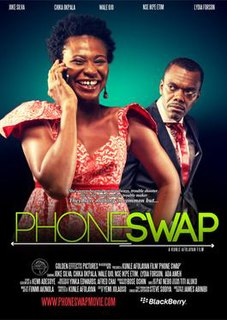 <i>Phone Swap</i> Film dir. by Kunle Afolayan ; starring Joke Silva ... [et al.]