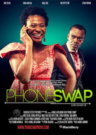 Phone Swap - Theatrical poster